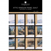Attic Window Panel Quilt Pattern by Missouri Star