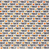 Ghouls and Goodies - Ghouls Trick or Treat White Yardage