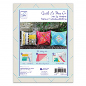 Pillow Cover Quilt As You Go Preprinted Batting