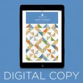 Digital Download - Happy Hearts Quilt Pattern by Missouri Star