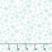 Tahoe Ski Week - Snowflakes Powder Yardage
