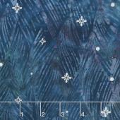Artisan Batiks - Northwoods 7 Waves Winter Metallic Yardage