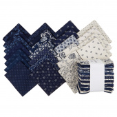 Abigail Blue Fat Quarter Bundle