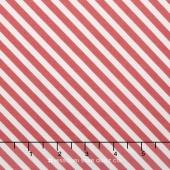 On Trend - Trend Stripe Raspberry Yardage