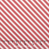 On Trend - Trend Stripe Raspberry Yardage