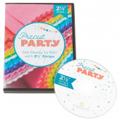 "Missouri Star Precut Party DVD: Get Ready to Roll with 2 1/2"" Strips"