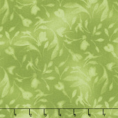 Paradise - Diffused Tonal Green Yardage