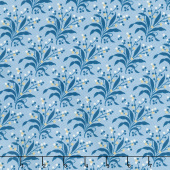 Perfect Union - Fern Cornflower Yardage