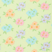 Good Day! - Bunches of Blooms Green Yardage