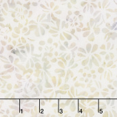 Quiet Shades Batiks - Clover Heather Yardage