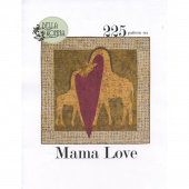 Mama Love Giraffe Pattern