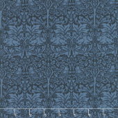 Morris Garden - Brother Rabbit 1882 Indigo Yardage