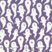 Hocus Pocus - Ghosts Purple Yardage