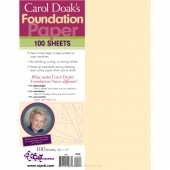 Foundation Paper 100 Sheets by Carol Doak