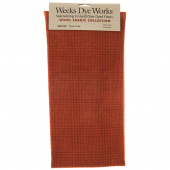 Weeks Dye Works Hand Over Dyed Wool Fat Quarter - Glen Plaid Terra Cotta
