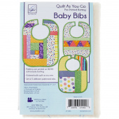Baby Bibs Quilt As You Go Kit