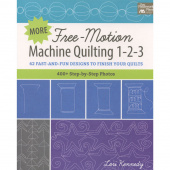 More Free-Motion Machine Quilting 1-2-3 Book