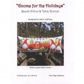 Gnome for the Holidays Bench Pillow Pattern