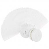 "Solitaire Whites Ultra White 2.5"" Strips"