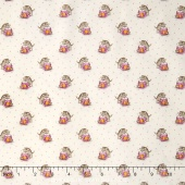 Aunt Grace - Kitty Cup Pink Yardage