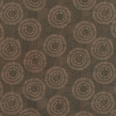 Wilmington Essentials - Circle Burst Chocolate Yardage