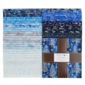 Artisan Batiks - Northwoods 8 Metallic Ten Squares