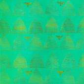 Stitched Batiks - Hive Lawn Yardage