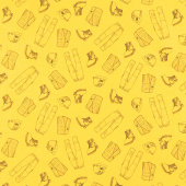 CAT - Gear Yellow Yardage