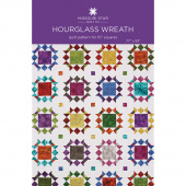 Hourglass Wreath Quilt Pattern by Missouri Star