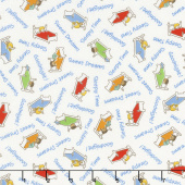 Storybook Sleepytime - Sweet Dreams Cream Yardage