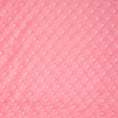 "Cuddle Embossed Dimple - Paris Pink 60"" Minky Yardage"