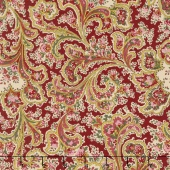 "Quilt Backs - Malabar Claret 108"" Wide Backing"