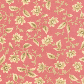 Nancy's Needle 1850-1880 - Garden Splendor Sweet Pink Yardage
