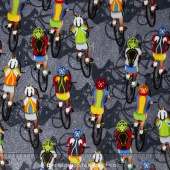 Sports - Cycling Grey Yardage