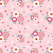 Pure Delight - Main Pink Yardage