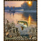 Realtree - Bass Fishing Panel