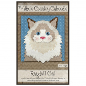 Ragdoll Cat Precut Fused Appliqué Pack