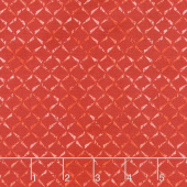 Prose - Delicate Crosshatch Red Yardage