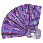 "Dreamscapes II Purple Digitally Printed 2.5"" Strips"