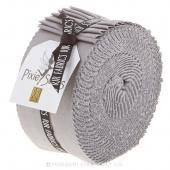 Cotton Supreme Solids Silver Pixie Strips