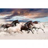 Maverick - Galloping Mustang Multi Digitally Printed Panel