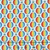 Suzy's Minis - Hot Air Balloon Bright Yardage