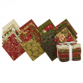 Cardinal Song Metallic Fat Quarter Bundle