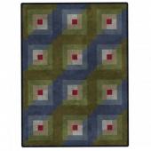 Color Wash Woolies Log Cabin Quilt POD Kit