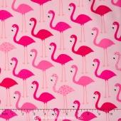 Urban Zoologie - Pink Flamingos Yardage