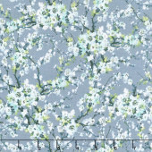 Serene Spring - First Flourish Fog Yardage