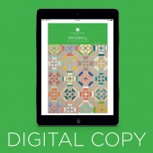 Digital Download - Windmill Quilt Pattern by MSQC