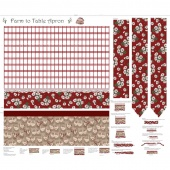 Farm to Table - Apron Red Panel