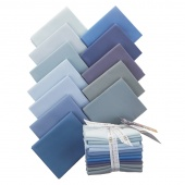 Kona Cotton - Overcast Fat Quarter Bundle