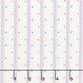 Aunt Grace Backgrounds - Stripes Pink Yardage